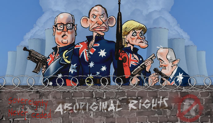 Government leaders of the colonial military Reich, leading the discrimination of the First Nations Sovereign Peoples
