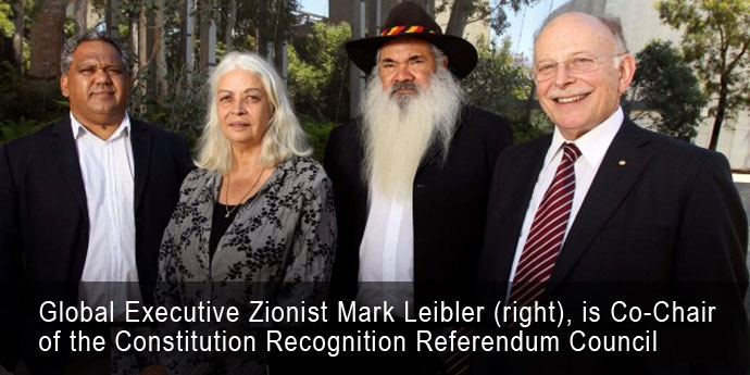 Noel Pearson, Marcia langton, Patrick Dodson with Mark Leibler