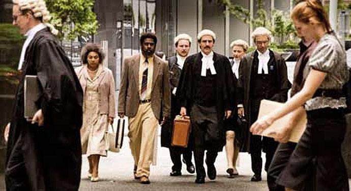 Eddie Mabo with his legal team
