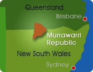 Murrawarri Republic Location Map