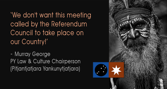 Murray George, Chairperson of APY Law and Culture