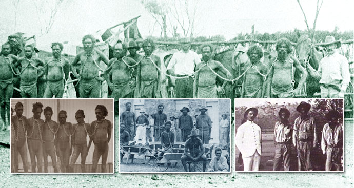 Rape and Slavery of Aboriginal people in Australia