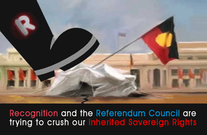 Recognition Destruction of Aboriginal Inherited Rights