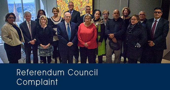 Referendum Council Complaint