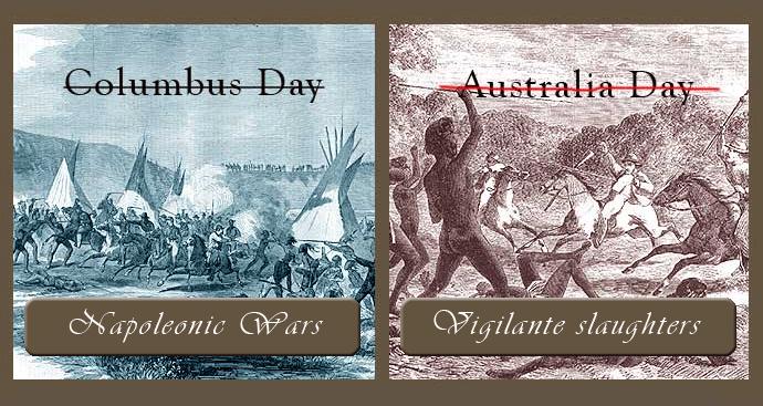 Columbus Day - Australia Day