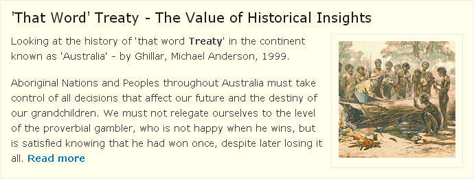 'That Word' Treaty - The Value of Historical Insights