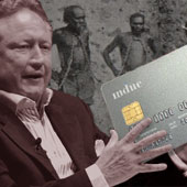 A welfare card was recommended in a controversial review of Indigenous employment by WA mining magnate Andrew 'Twiggy' Forrest