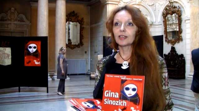 Wanjina Watchers exhibition by Gina Sinozich at the Governor's Palace in Rijeka