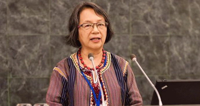United Nations Special Rapporteur on the Rights of Indigenous Peoples Victoria Tauli-Corpuz