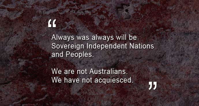 Always was, Always will be Aboriginal Land