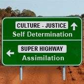 The crossroads to self-determination and assimilation