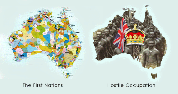 First Nations and Australia Colony