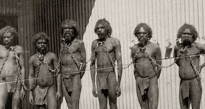 Aboriginal Prisoners during the Frontier Wars