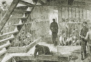 Convicts sent to New South Wales