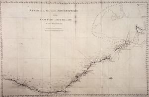 Chart of the sea coast New South Wales