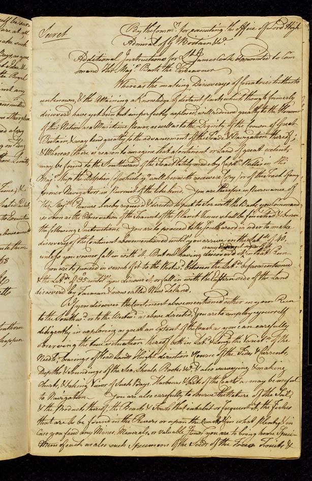 The 'Treachery' began in 1770 - the 'Genocide' began in 1788