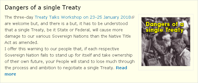 Dangers of a Treaty