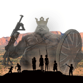 Aboriginal First Nations challenging the Great Divide in a David and Goliath struggle