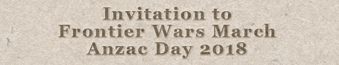 Frontiers Wars March