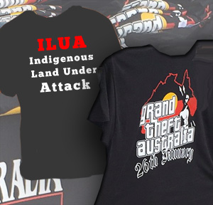 Grand Theft - Australia and ILUA = Indigenous Land Under Attack