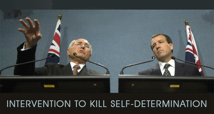 Intervention killer of self-determination
