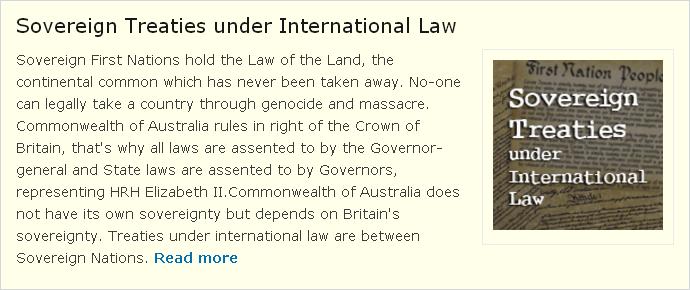 Sovereign Treaties
