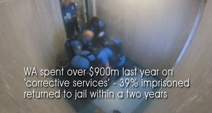 WA Imprisonment rates