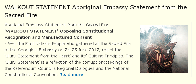 Uluru Walkout Statement