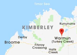 Warmun (Turkey Creek) Location Map