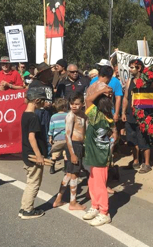 Aboriginal Children Frontier War March