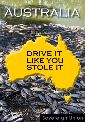Australia - Drive it like you stole it