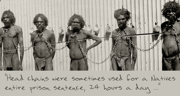Chain gangs and slave labour in Australia