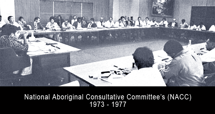 National Aboriginal Consultative Committee's (NACC) 1973 - 1977
