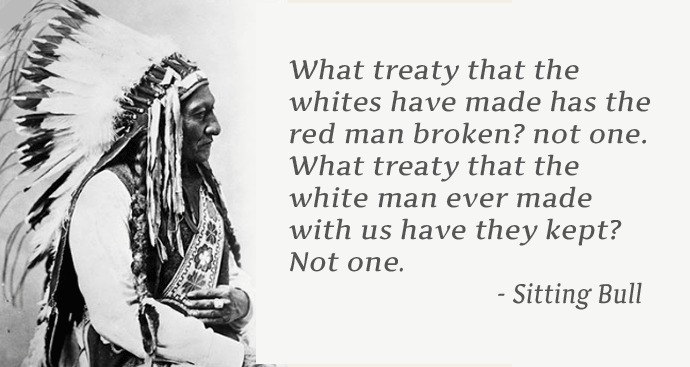Chief Sitting Bull Quote