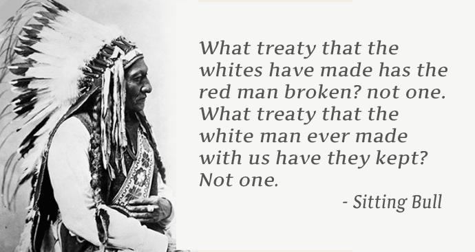 Chief Sitting Bull Quote