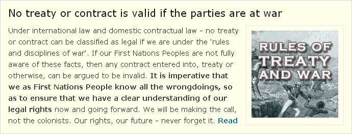 No treaty or contract is valid if the parties are at war