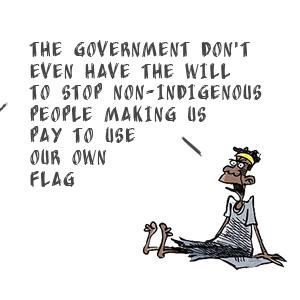 Stolen Aboriginal Flag