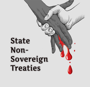 State government treaties are not real treaties