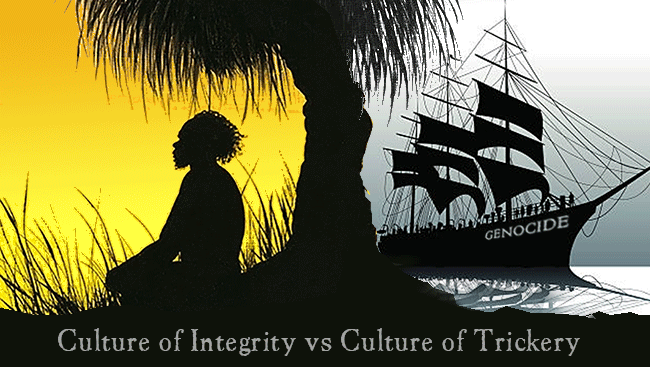 Culture of Integrity vs Culture of Trickey