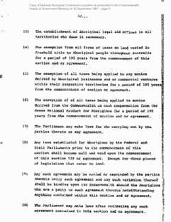 National Aboriginal Conference - Treaty Demands 1981 - Page 3