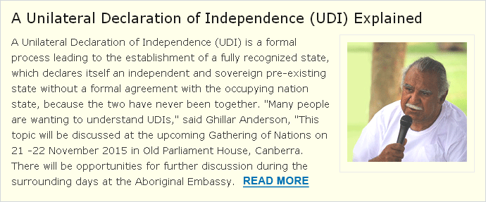 Unilateral Declaration of Independence (UDI)