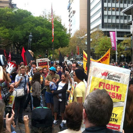 Sydney Rally - Police shootings, Kings Cross