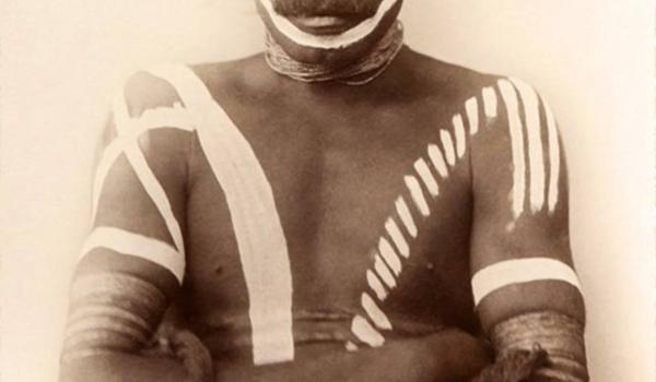 Warrior from Port Darwin, Northern Territory, in the late 1800s.  Charles Kerry / IDIDJ Australia