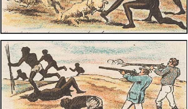 """How the invaders documented their massacres - """"It is OK to kill unlimited Aboriginals if you feel your stock is threatened"""""""