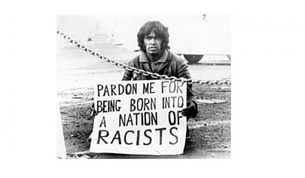 Gary Foley, Aboriginal Activist on the streets of Sydney