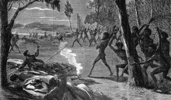 Aboriginals attack Lake Hope