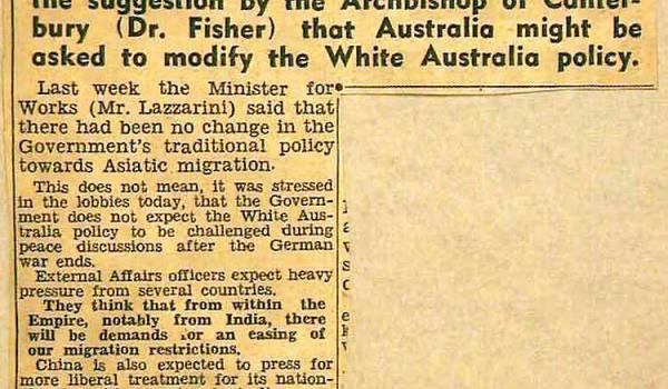 Daily Telegraph 20 March 1945 (National Archives of Australia)