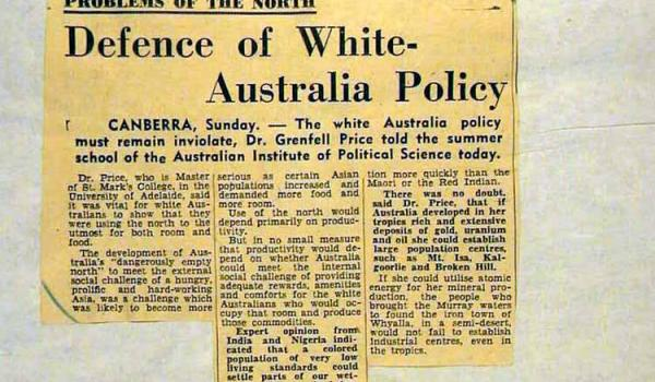 'The Age' Melbourne 1 February 1954 (National Archives of Australia)