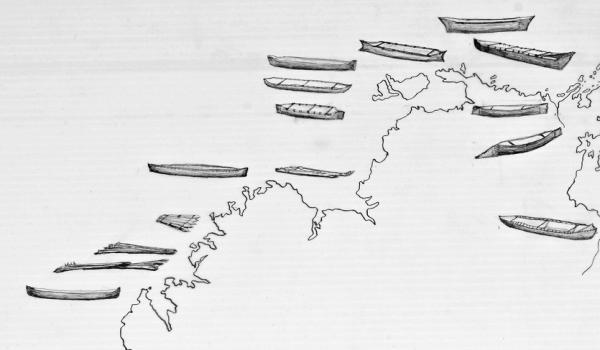 Kimberley NT detail - - Watercraft Map, 2014 by David Payne -  Australian National Maritime Museum
