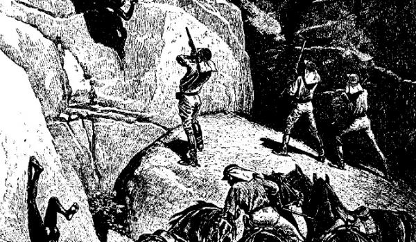 Flying Foam Massacre occurred in 1868 on the just north of Murujuga (or Burrup Peninsula) -  (Image by Carl Lumholtz, 1889) See: http://nationalunitygovernment.org/pdf/2014/flying-foam-massacre.pdf - CLICK TO EXPAND (FULL VIEW)